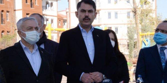 Bakan Kurum: Elazığ'da 2 bin 500 konut teslime hazır