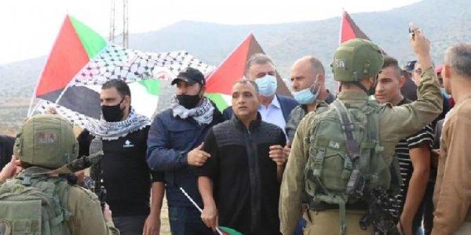 İsrail güçlerinden Filistinli göstericilere müdahale