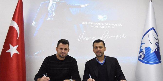 Büyükşehir Belediye Erzurumspor Hüseyin Çimşir ile sözleşme imzaladı