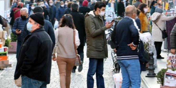 Eskişehir'de kısıtlama öncesi 'alışveriş' yoğunluğu