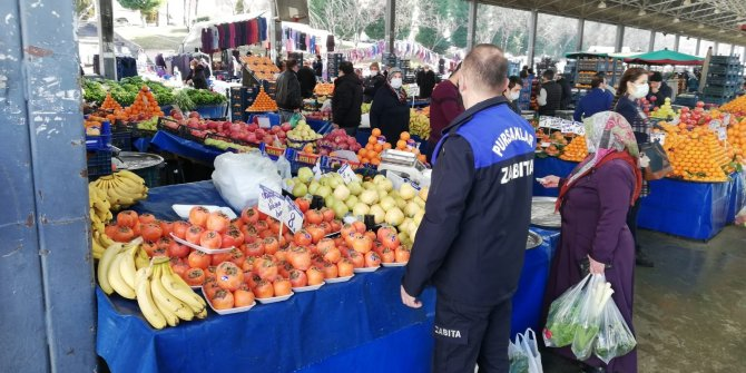 Pursaklar'da Pazarlar Daha Güvenli