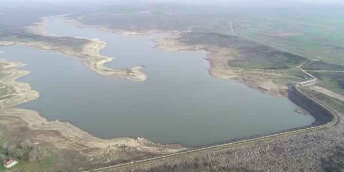 Son yağışlarla Edirne'de içme suyunun sağlandığı barajlara, 30 milyon metreküp su geldi