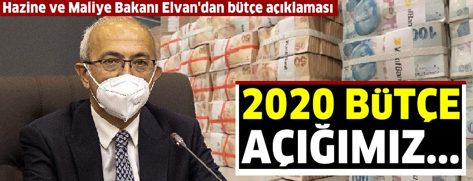 Bakan Elvan: 2020 bütçe açığımız hedeflenenin altında gerçekleşti ve 66,5 milyar lira tasarruf sağladık