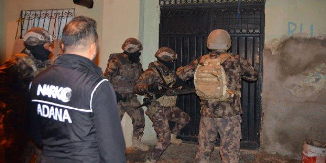 Adana'da 'torbacı' operasyonu: 18 gözaltı