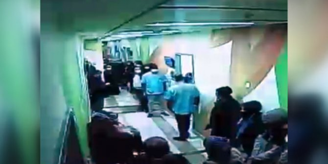 Temizlik görevlisi gibi giyinen polis, firari hükümlüyü eşini getirdiği hastanede yakaladı
