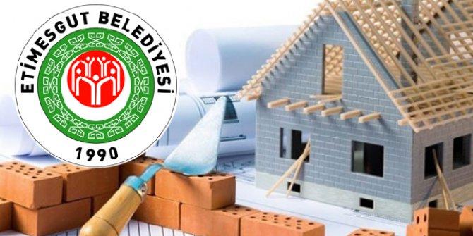 Etimesgut Belediyesi inşaat malzemesi satın alacak