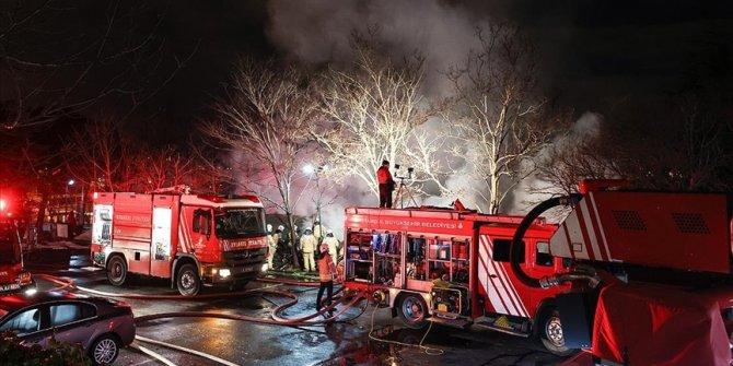 Boğaziçi Üniversitesi Hisar Kampüsündeki kafeteryada yangın