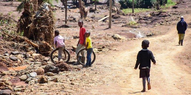 Kenya'da 'her 10 evden 2'sinde' hiç yiyecek yok