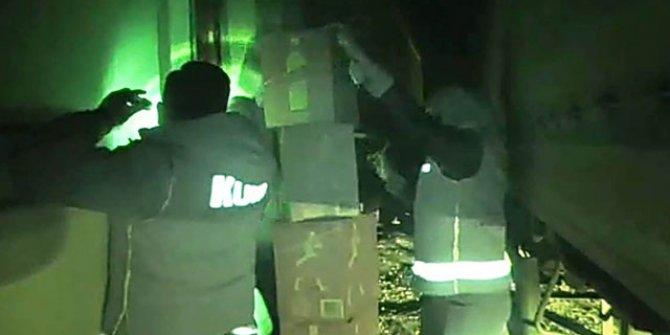 Kızıltepe'de 5 milyon lira değerinde 'kaçak içki' ele geçirildi