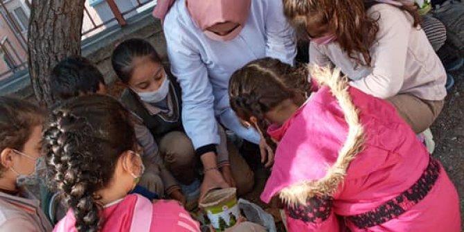 Göçmen öğrencilerle gönülden gönüle
