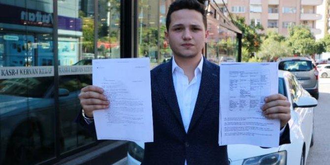 Hastaneye yetişmeye çalışırken radar cezası yazılan genç, genç hukuk mücadelesini kazandı