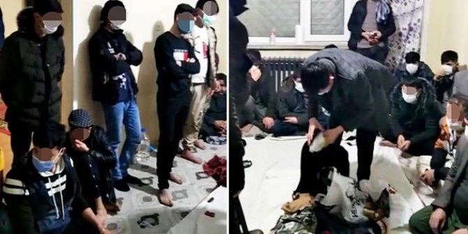 Kırşehir'de eve kumar baskını: 45 kişiye para cezası