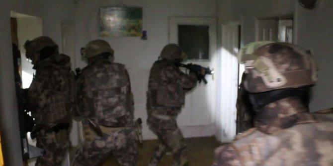 500 polisle suç örgütü operasyonu: 57 gözaltı