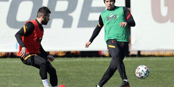 Galatasaray'da Feghouli'den iyi haber: Takımla çalıştı