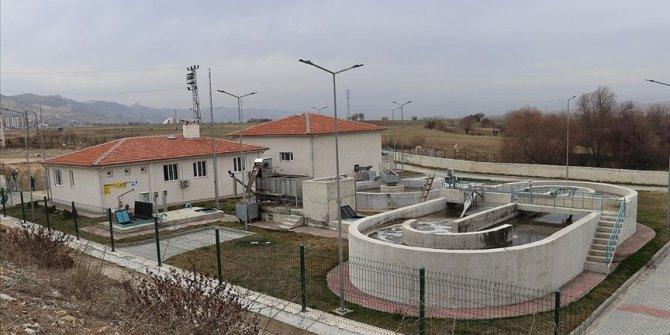 Batman'ın Gercüş ilçesinde 15 milyon lira maliyetle Atık Su Arıtma Tesisi yapıldı