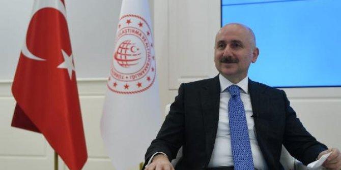 Bakan Karaismailoğlu: Her haneye 100 megabit internet projemiz var