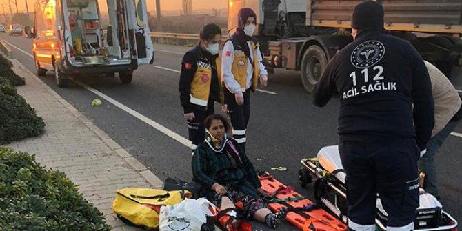 Motosikletiyle yaptığı kazada yaralanan annesini bırakıp olay yerinden uzaklaştı