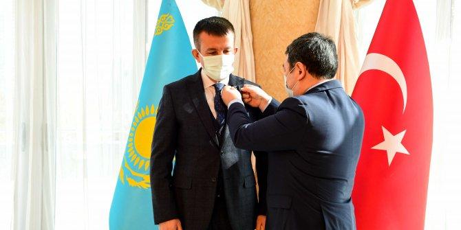 Başkan Balcı, Wilhelm Thomsen madalyasına layık görüldü