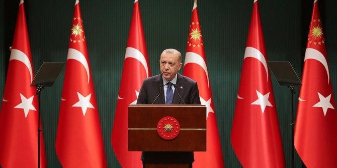 Cumhurbaşkanı Erdoğan: Yeni kontrollü normalleşme sürecini başlatıyoruz