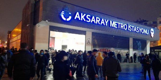 Yenikapı-Bayrampaşa arasında metro seferleri normale döndü
