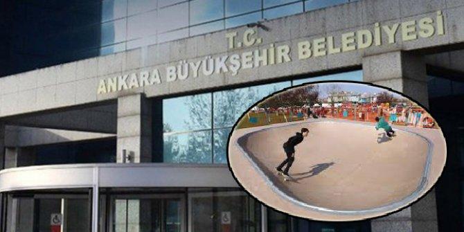 Ankara Büyükşehir Çankaya'ya kaykay parkı yaptırıyor
