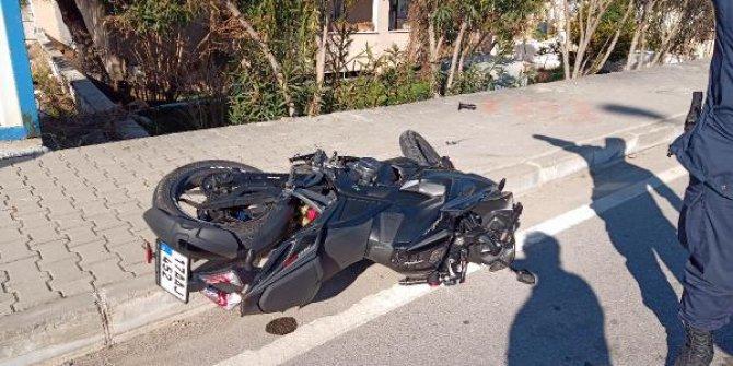 Çanakkale'de önce kaldırma ardından direğe çarpan motosikletteki uzman çavuş öldü