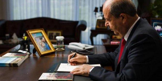 KKTC Cumhurbaşkanı Tatar'dan şehitler için taziye mesajı