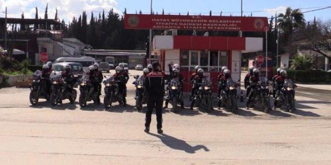 Hatay'da polis ekiplerinden 21 noktada asayiş ve trafik denetimi