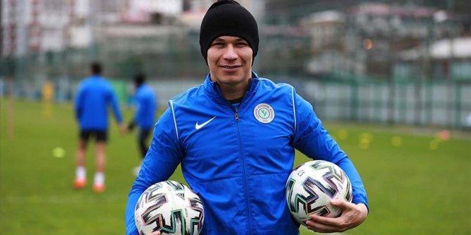 Rizespor'un golcü oyuncusu Samudio: Yeni bir başlangıç yapmalıyız