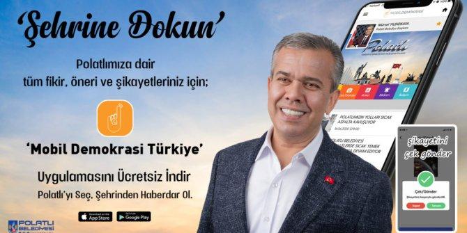 'Mobil Demokrasi' Ankara'daki belediyeler de yerini almaya başladı