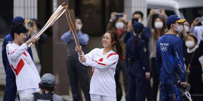Tokyo Olimpiyatları meşale turunun Osaka ayağı Kovid-19 nedeniyle iptal edildi