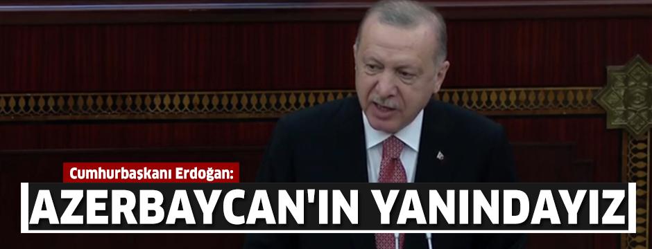 Cumhurbaşkanı Erdoğan: Bütün dünya bilsin ki yarın da yanında yer alacağız