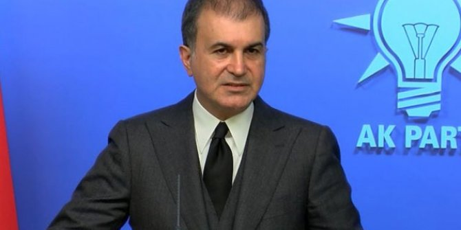 AK Parti'li Çelik'ten açıklama
