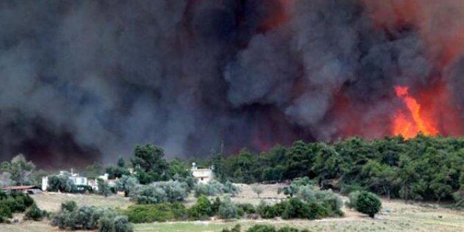 Bakan Pakdemirli: 21 ilde çıkan 63 yangının 42'si kontrol altına alındı