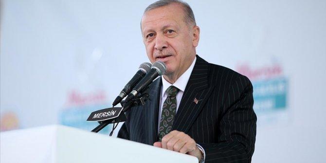 Cumhurbaşkanı Erdoğan: Akkuyu Nükleer Santrali 1. ünitesi 2023'ün Mayıs ayında tamamlanacak