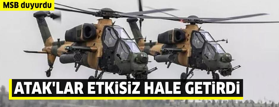 PKK'ya bir darbe daha! 4 terörist öldürüldü