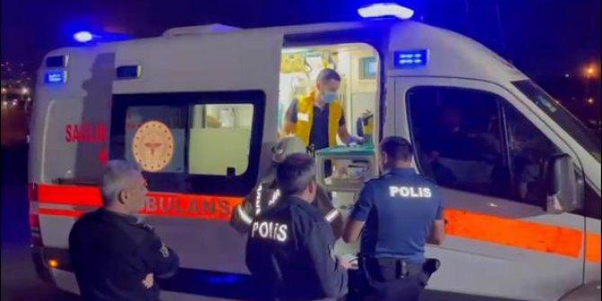 Eyüpsultan'da kanalizasyon çalışmasında göçük: 1 işçi yaralandı