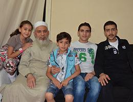 Suriyeli aile iftarda kapılarını Habervaktim'e açtı