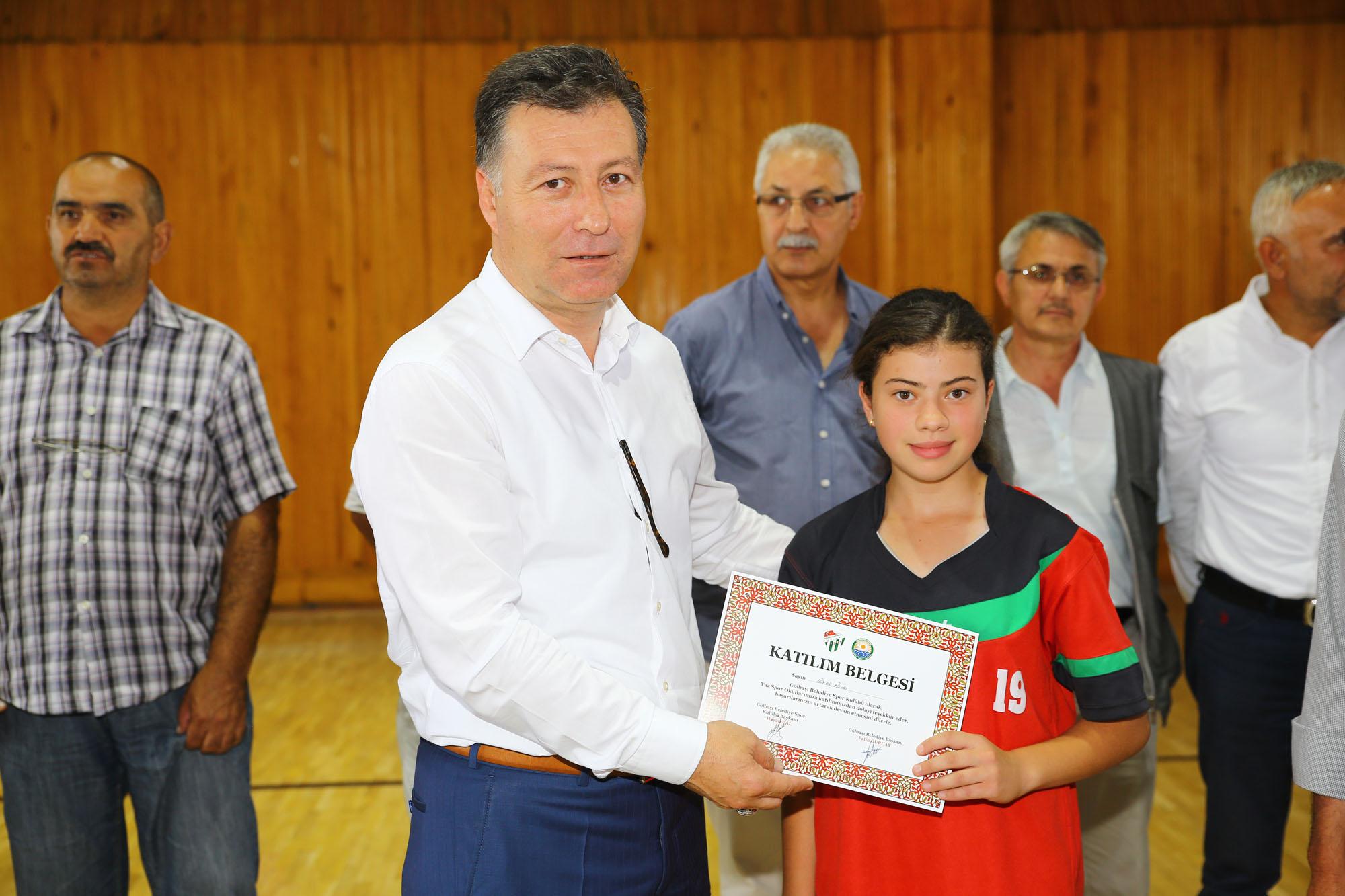 Gölbaşı Belediyespor Yaz Okulları Sezonu Kapattı