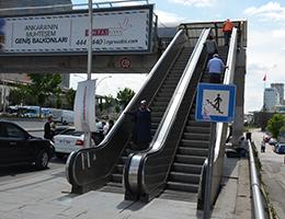 Yürüyen Değil Yürüten Merdiven!