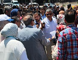Fuhuş Kartları Protestosuna Polis engeli