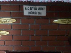 Hacı Bayram Veli'nin doğduğu ev ziyaretçi bekliyor