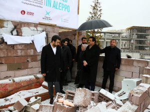 Halep'teki ACIYI hissettiren proje