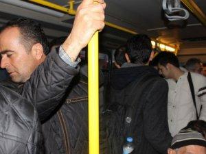 Otobüs hattı da tatile girdi 355 ve 374 nolu otobüsler hizmet vermiyor