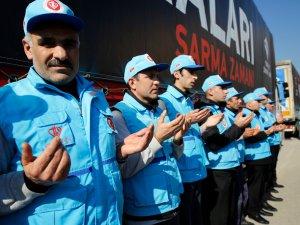Türkiye Tarihinin En Büyük Yardımı Suriye'ye Yapıldı
