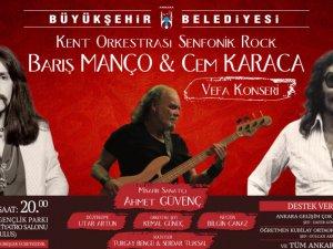 """Büyükşehir'den, """"Ustalara Vefa"""" Konseri"""