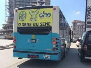 Başkentli şoförlerden Ankaragücü'ne destek