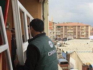 Çubuk terör mağdurları derneği binası yenileniyor