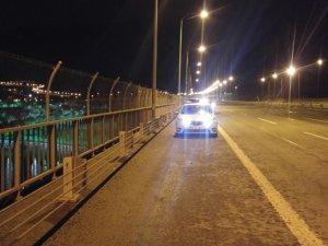 Sallanan köprü'de ALKOL TEHLİKESİ