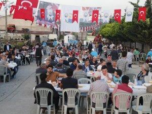 Gölbaşı Belediyesinden sanayi esnafına iftar